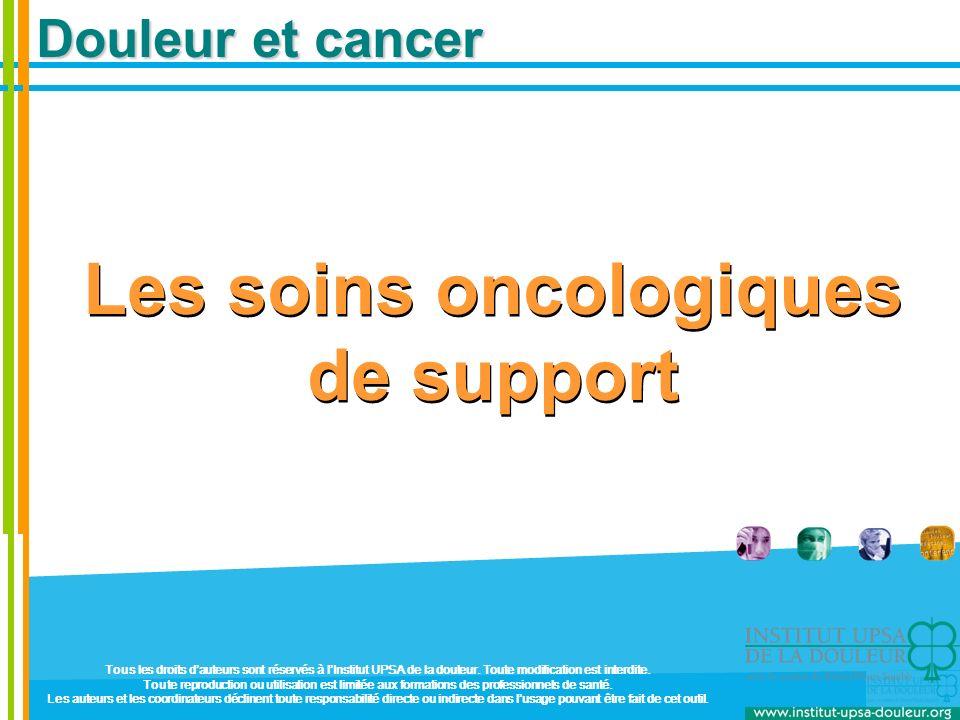 Les soins oncologiques de support