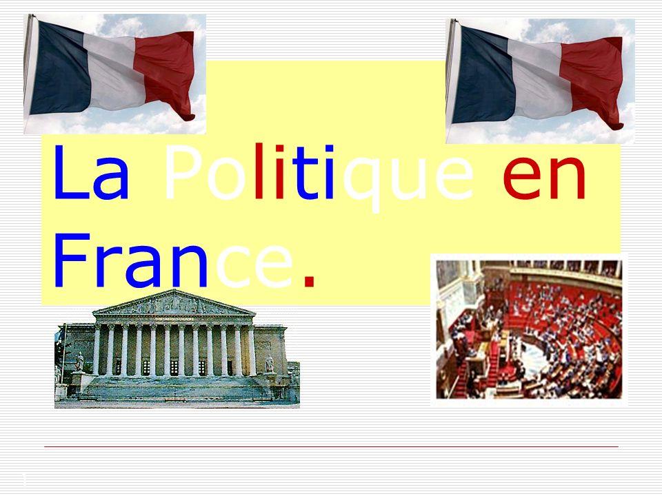 La Politique en France.