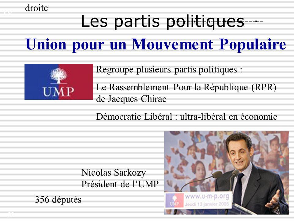 Union pour un Mouvement Populaire
