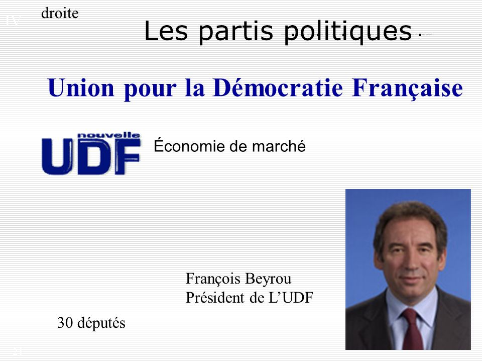 Union pour la Démocratie Française