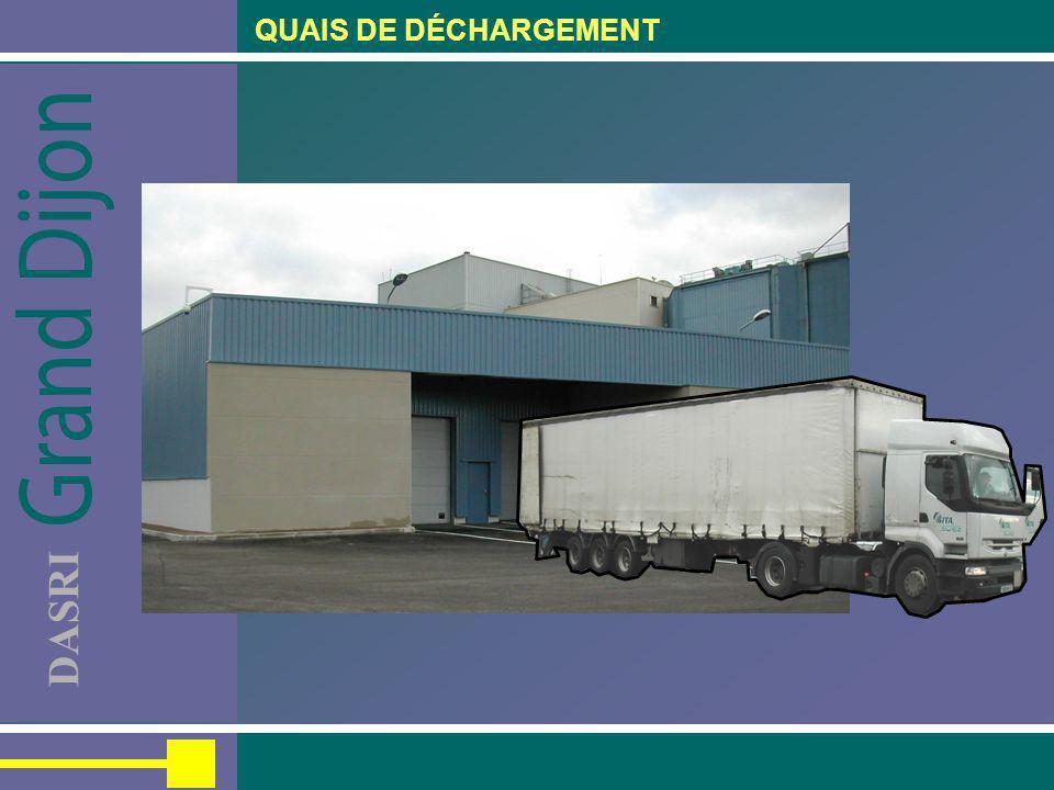 QUAIS DE DÉCHARGEMENT