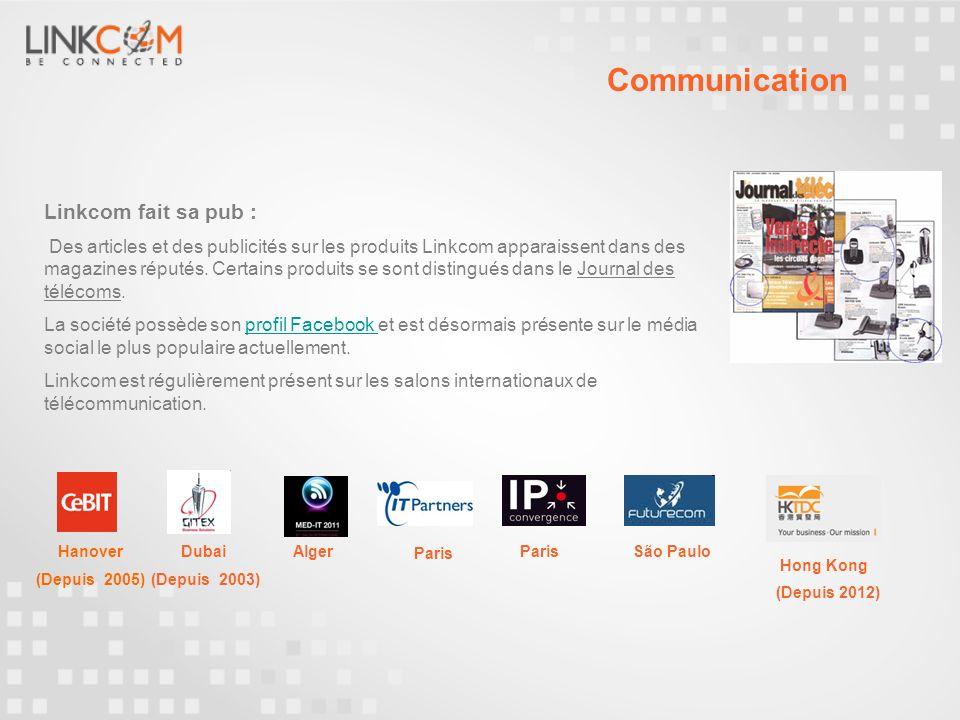 Communication Linkcom fait sa pub :