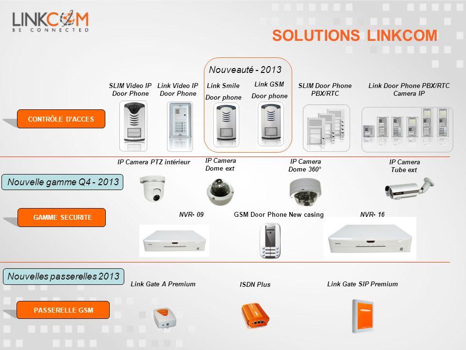 SOLUTIONS LINKCOM Nouveauté - 2013 Nouvelle gamme Q4 - 2013