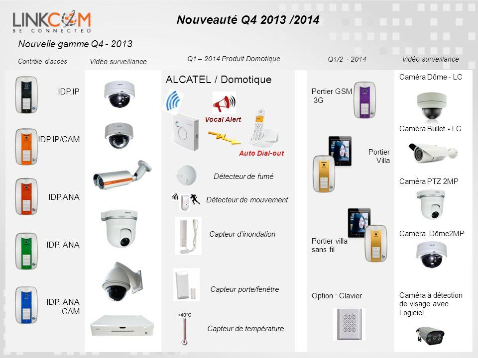 Nouveauté Q4 2013 /2014 ALCATEL / Domotique Nouvelle gamme Q4 - 2013