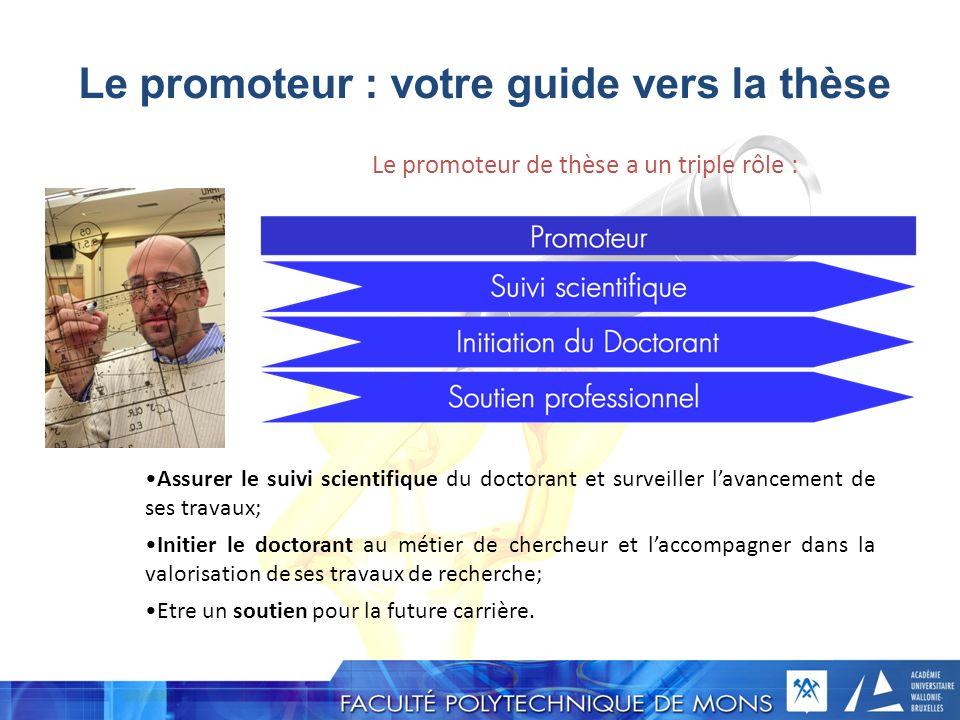 Le promoteur : votre guide vers la thèse
