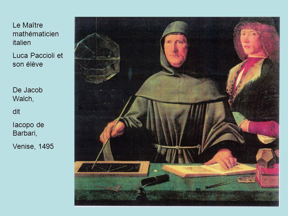 Le Maître mathématicien italien