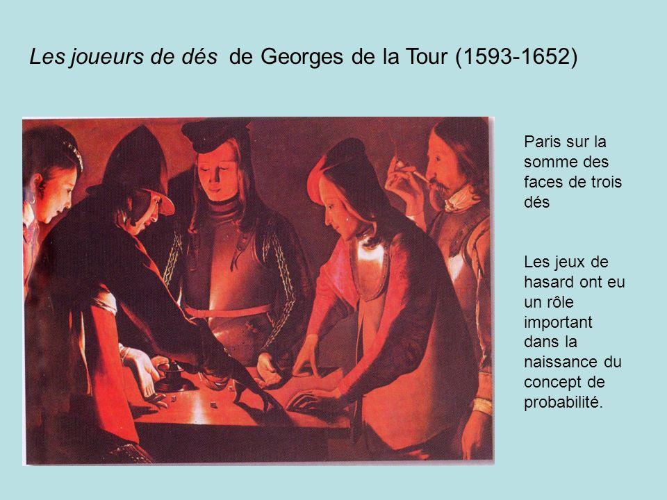 Les joueurs de dés de Georges de la Tour (1593-1652)