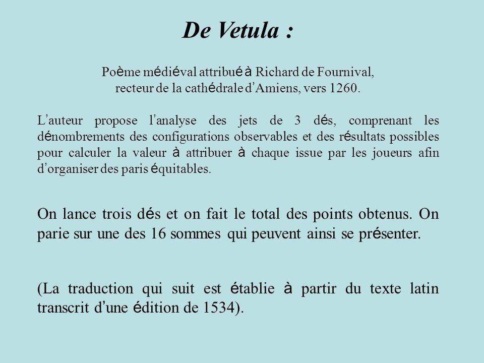De Vetula : Poème médiéval attribué à Richard de Fournival, recteur de la cathédrale d'Amiens, vers 1260.
