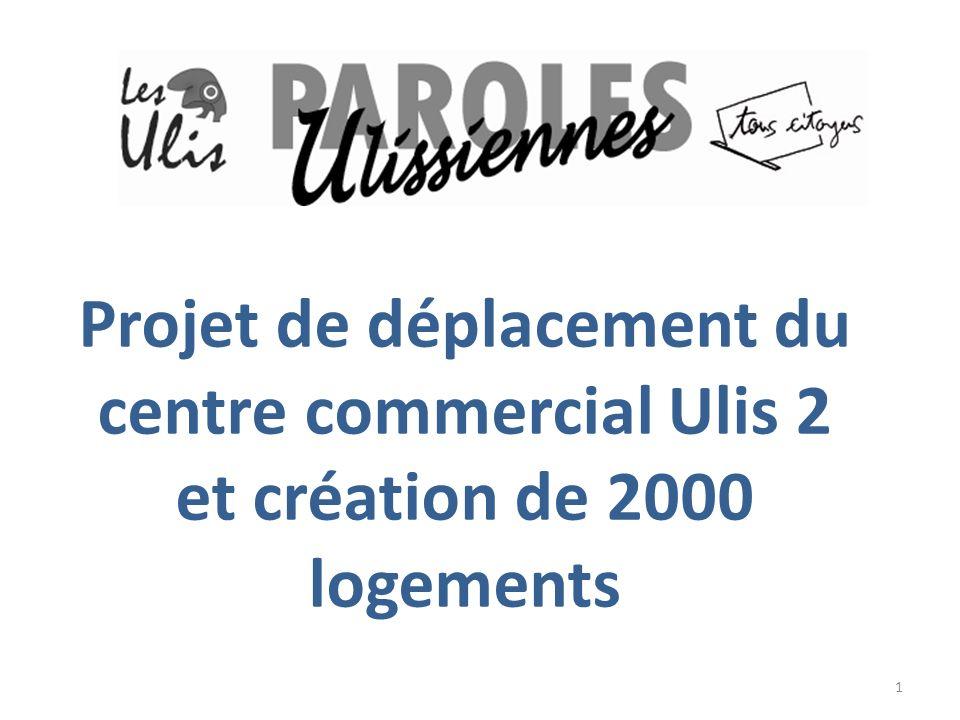 Projet de déplacement du centre commercial Ulis 2 et création de 2000 logements