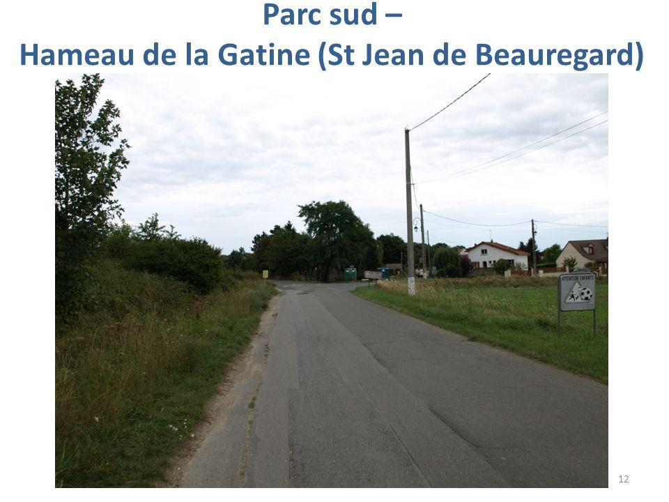 Parc sud – Hameau de la Gatine (St Jean de Beauregard)