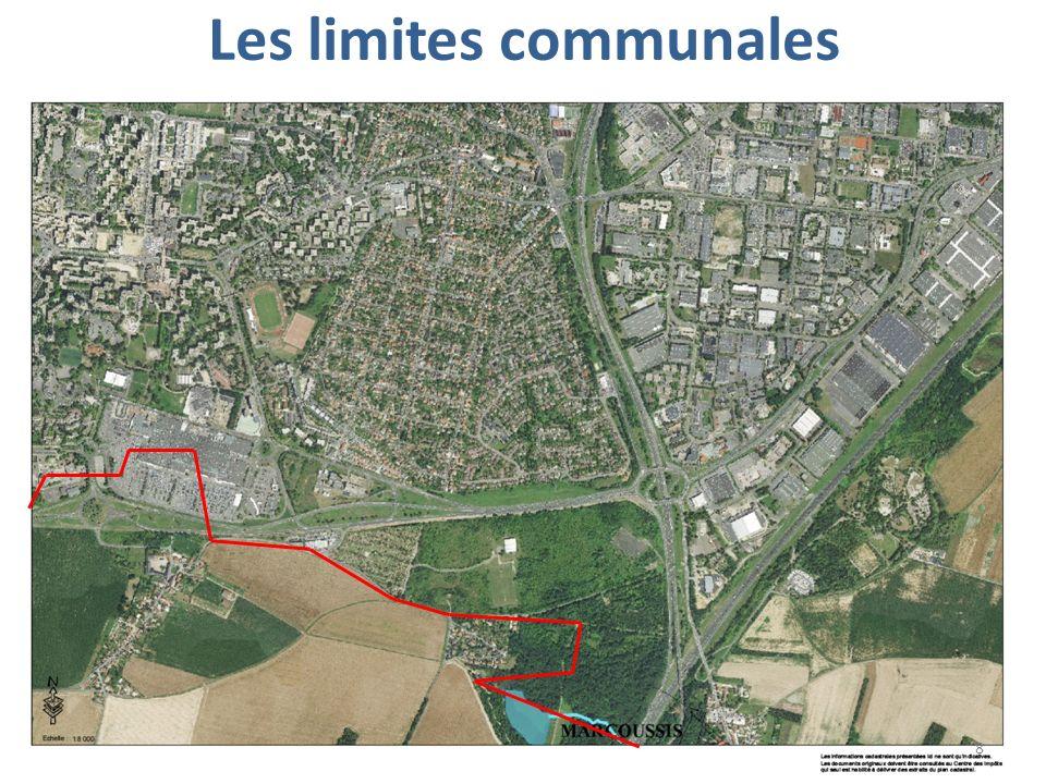 Les limites communales