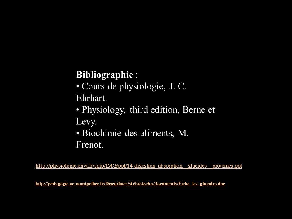 • Cours de physiologie, J. C. Ehrhart.