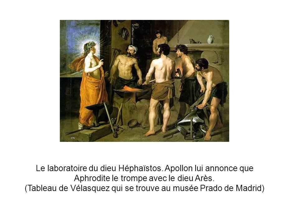 (Tableau de Vélasquez qui se trouve au musée Prado de Madrid)