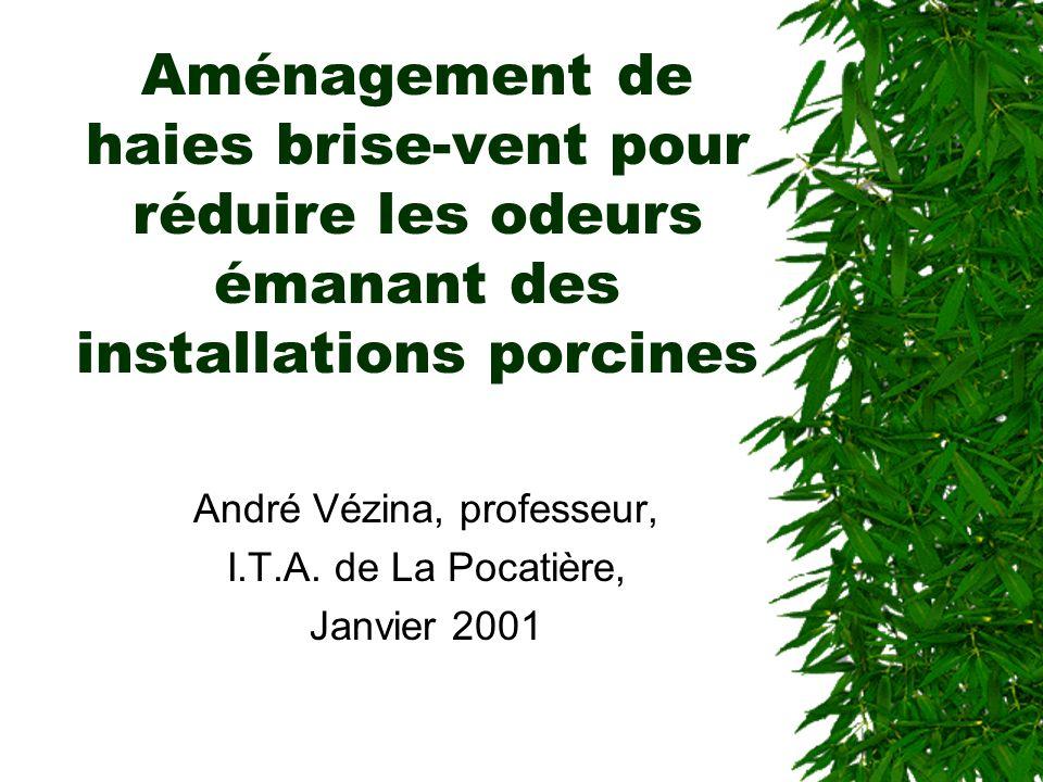 André Vézina, professeur, I.T.A. de La Pocatière, Janvier 2001