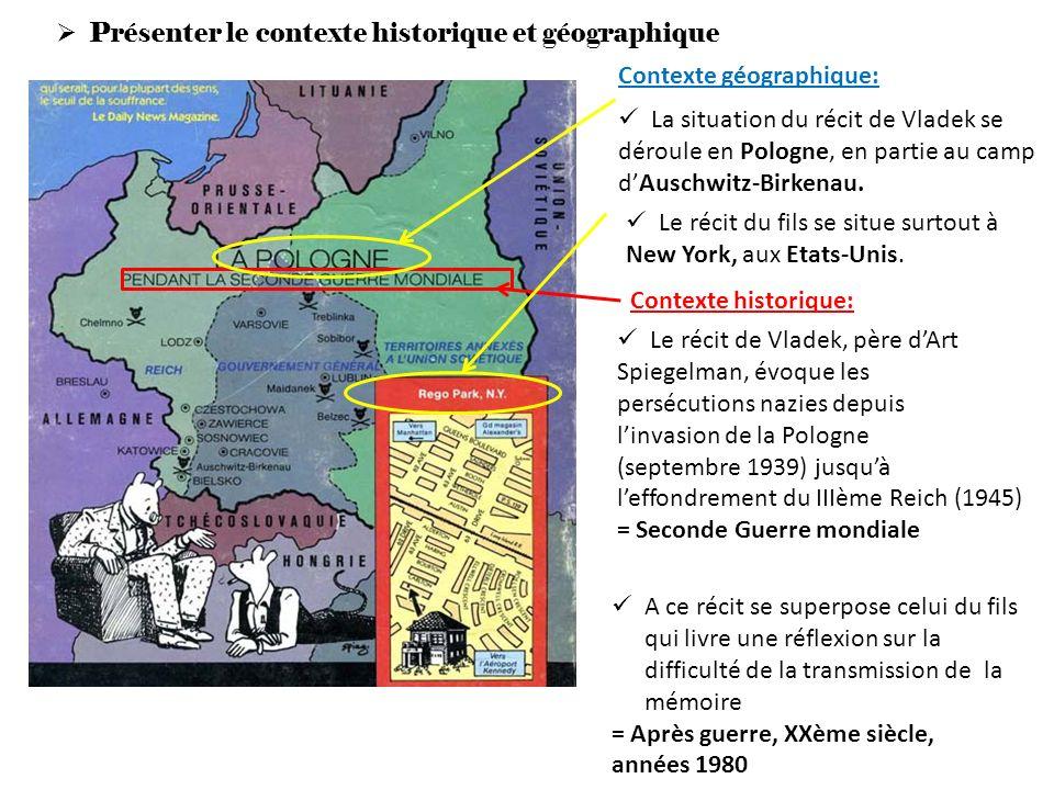 Présenter le contexte historique et géographique