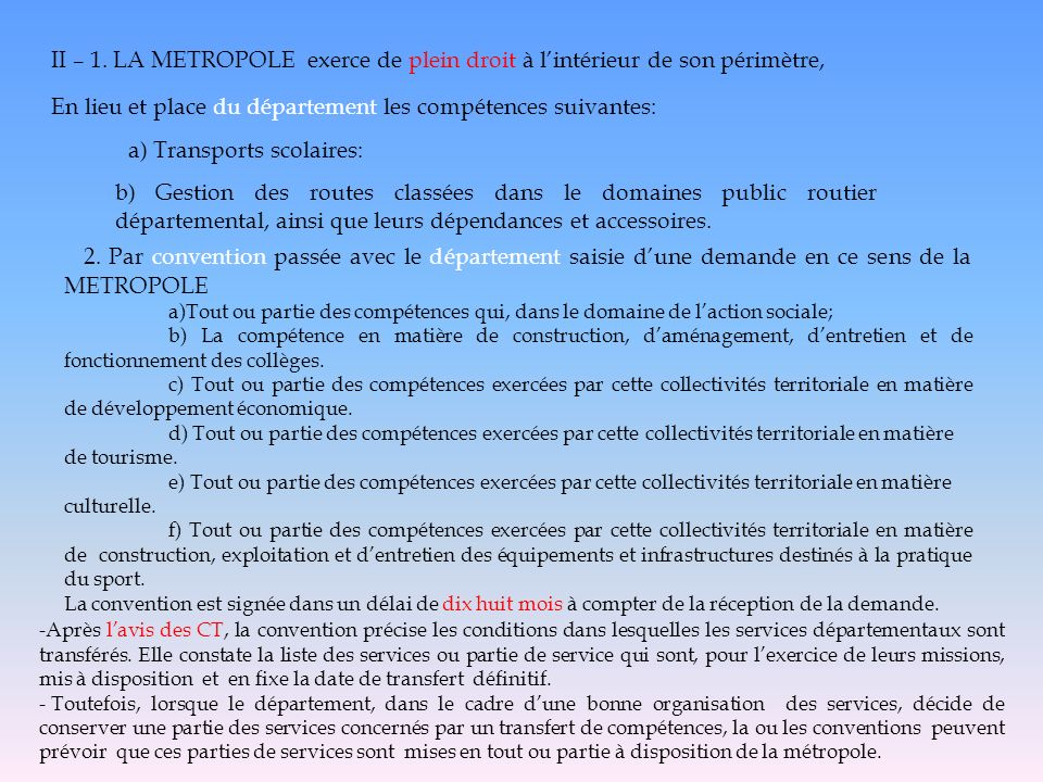a) Transports scolaires: