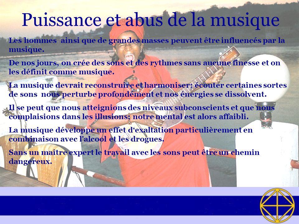 Puissance et abus de la musique