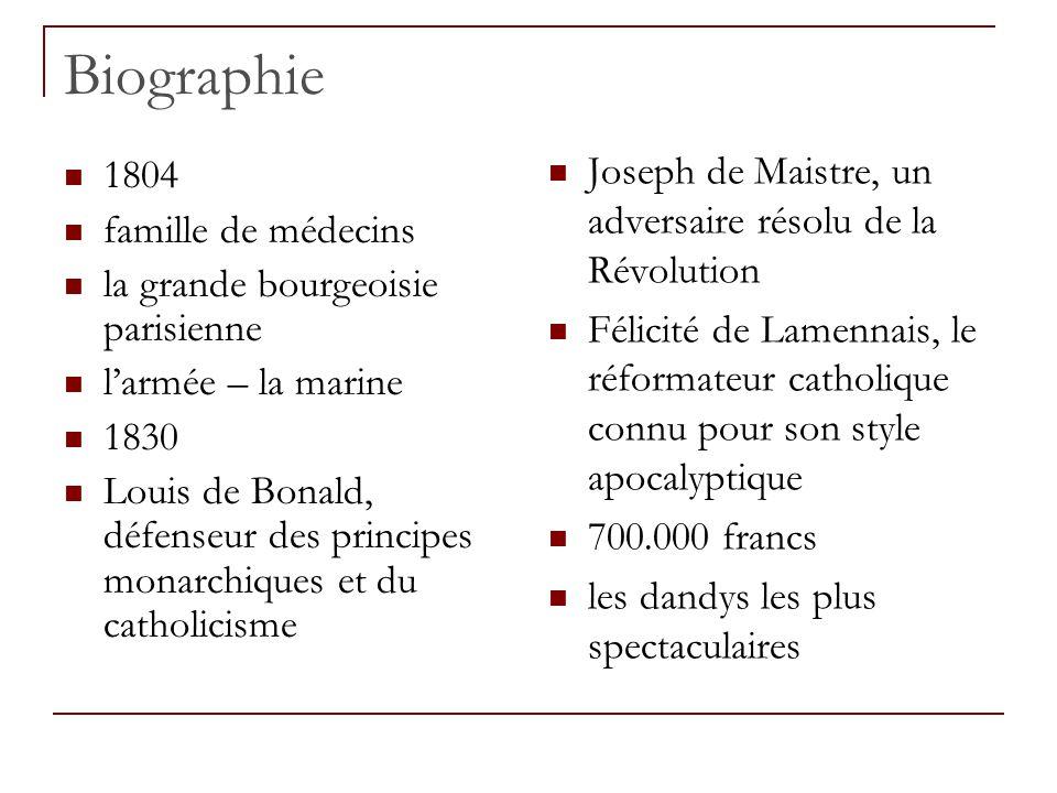 Biographie Joseph de Maistre, un adversaire résolu de la Révolution