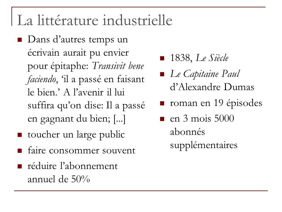 La littérature industrielle