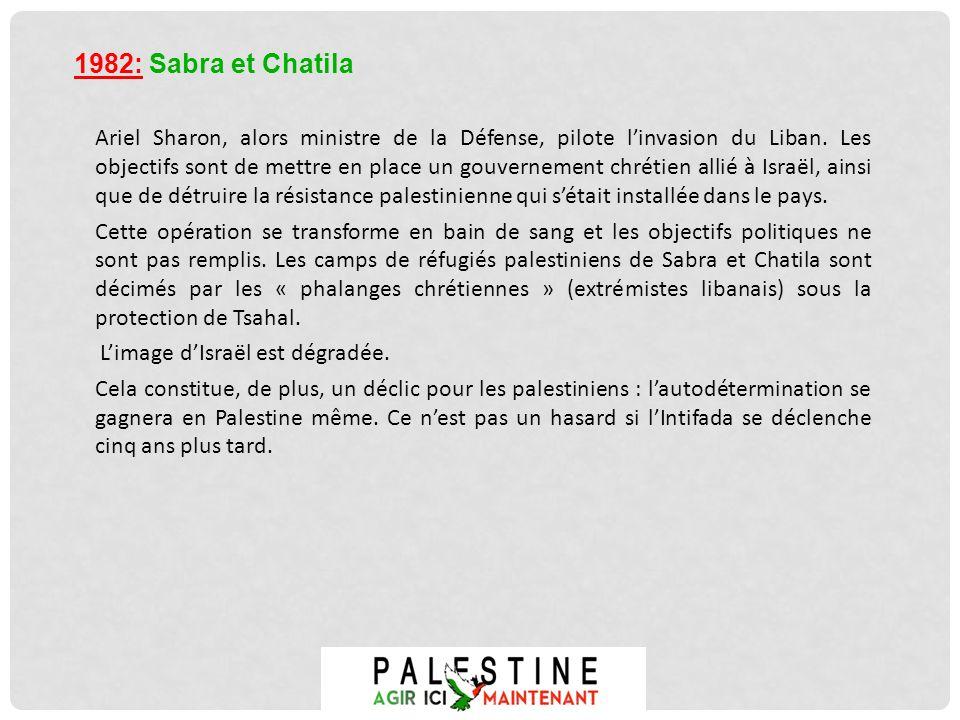 1982: Sabra et Chatila