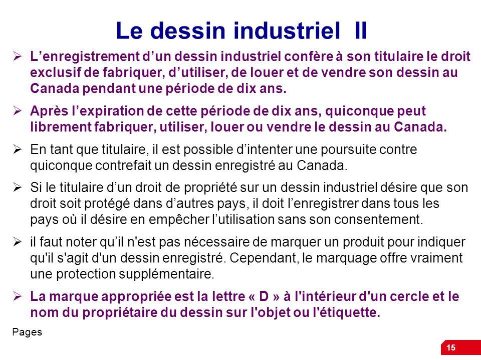 Le dessin industriel II