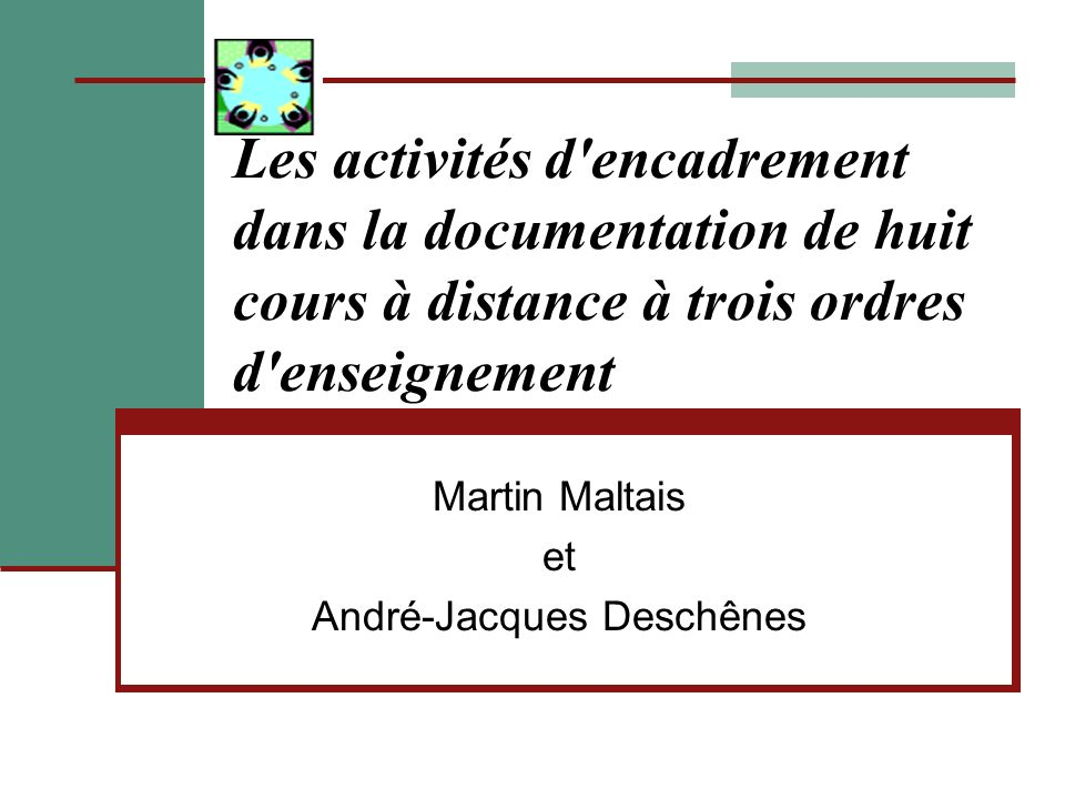 Martin Maltais et André-Jacques Deschênes
