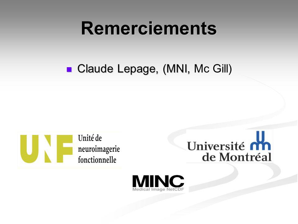 Claude Lepage, (MNI, Mc Gill)