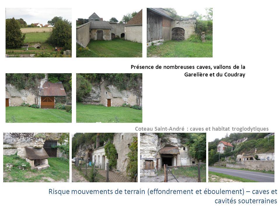 Coteau Saint-André : caves et habitat troglodytiques
