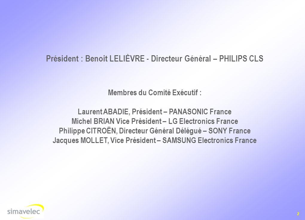 Président : Benoit LELIÈVRE - Directeur Général – PHILIPS CLS