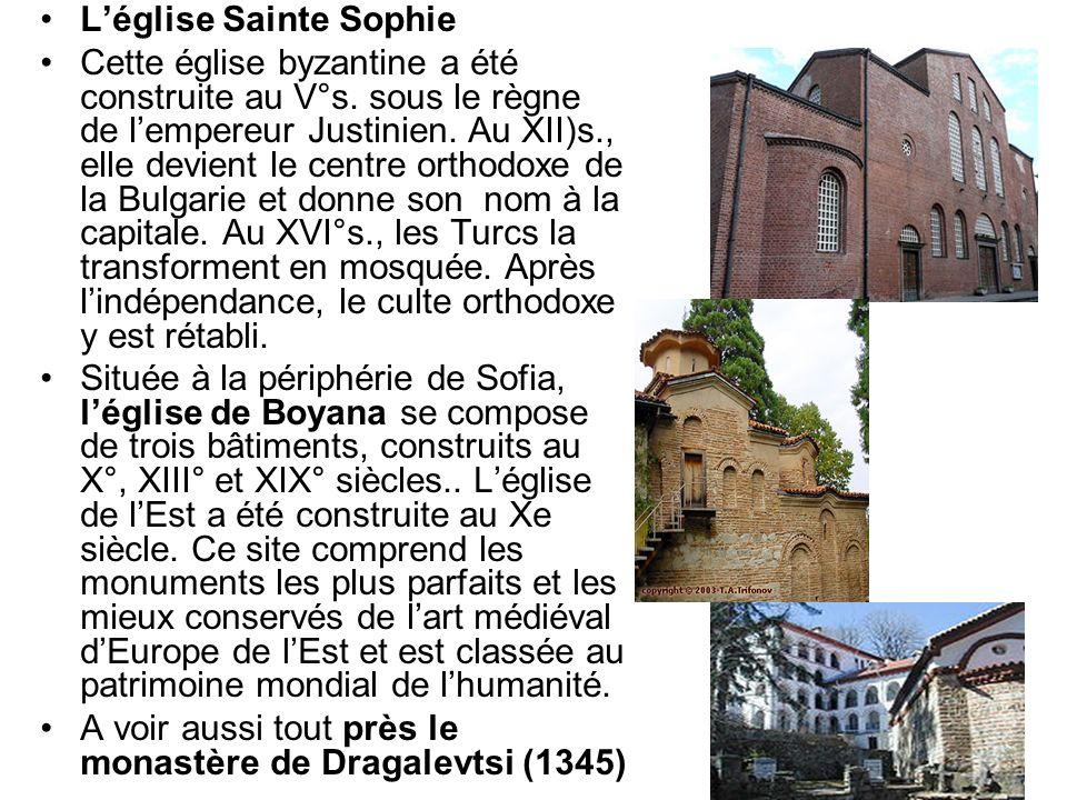 L'église Sainte Sophie