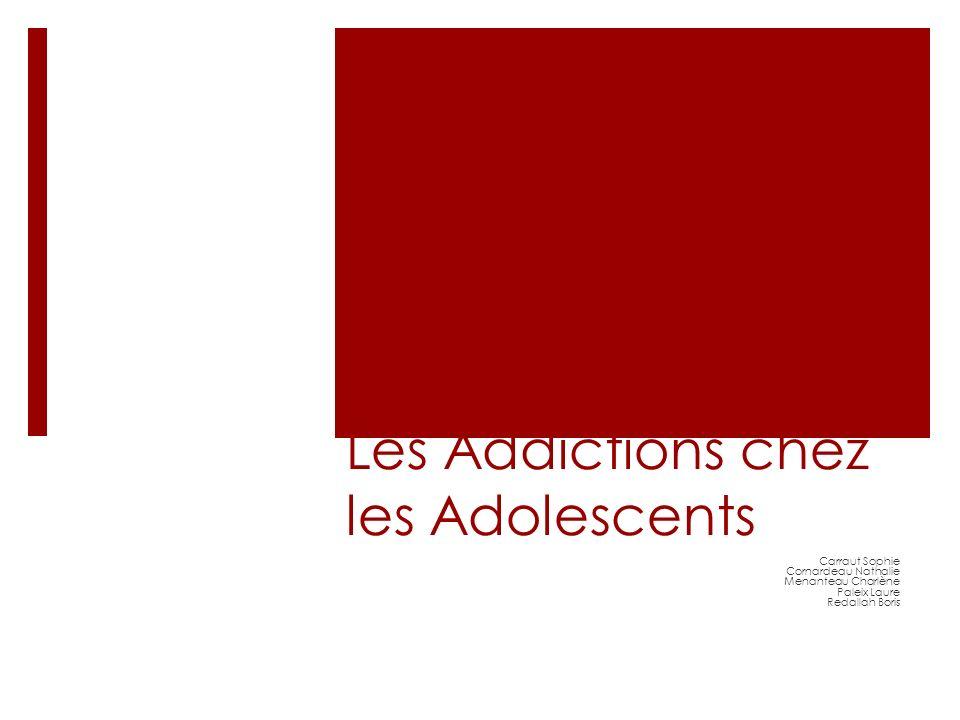 Les Addictions chez les Adolescents