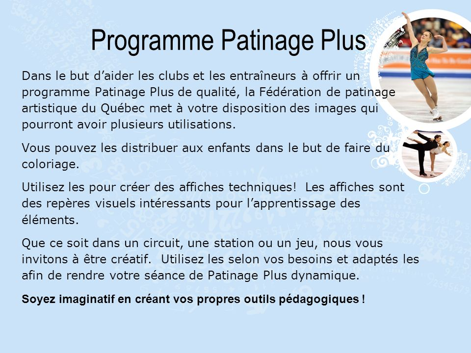 Programme Patinage Plus