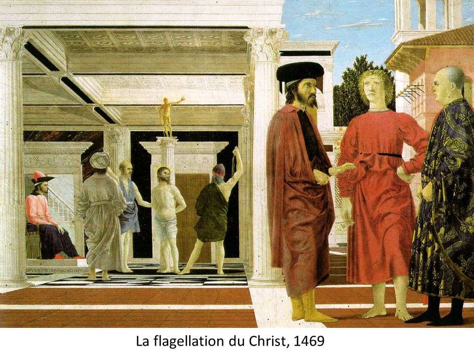 La flagellation du Christ, 1469