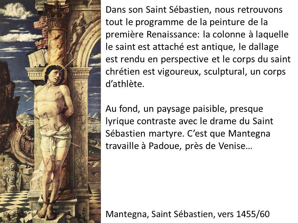 Mantegna, Saint Sébastien, vers 1455/60
