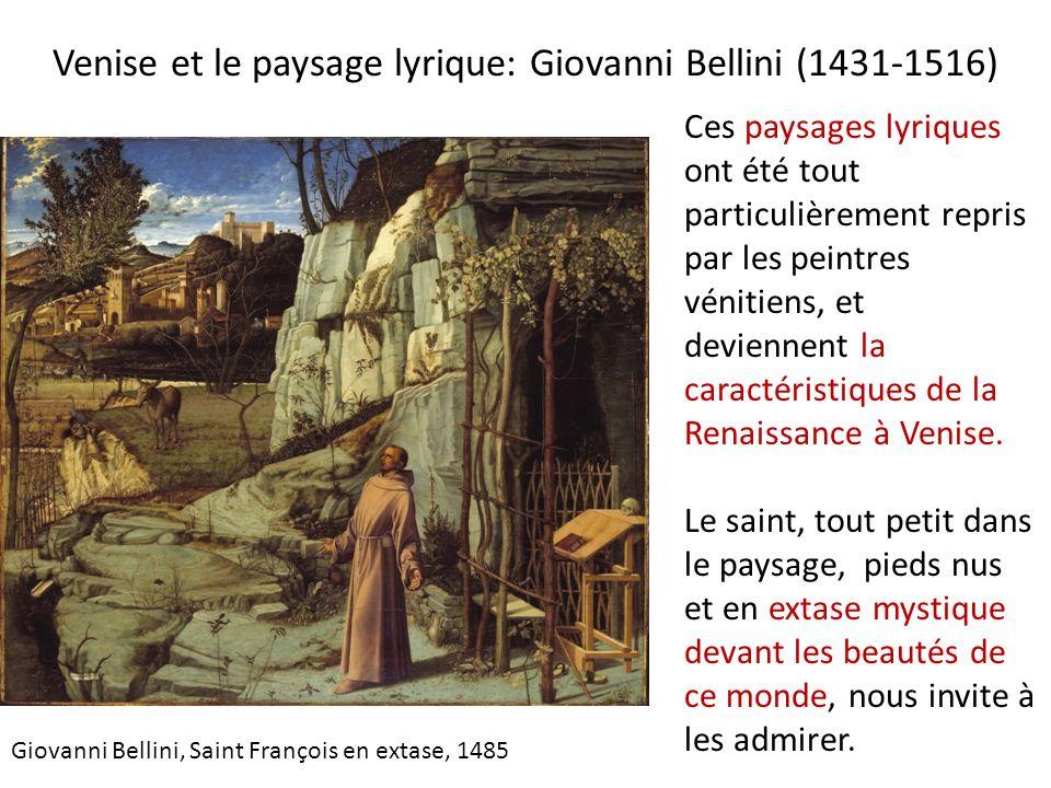 Venise et le paysage lyrique: Giovanni Bellini (1431-1516)