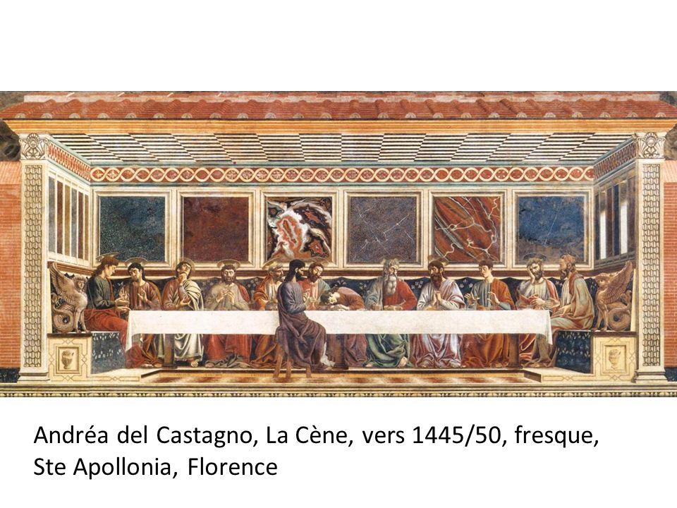 Andréa del Castagno, La Cène, vers 1445/50, fresque, Ste Apollonia, Florence