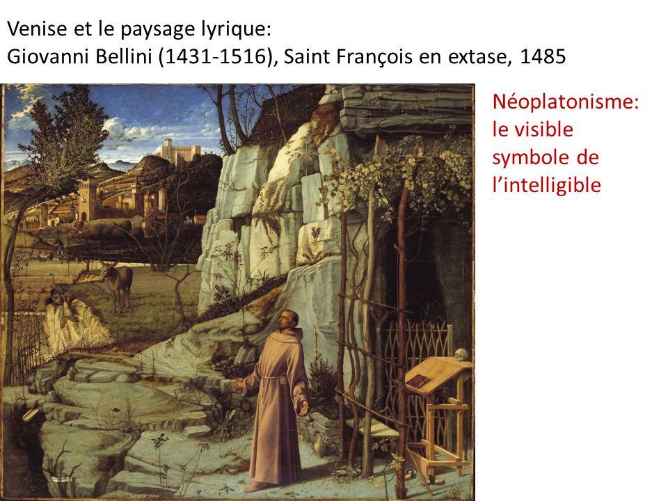 Venise et le paysage lyrique: Giovanni Bellini (1431-1516), Saint François en extase, 1485