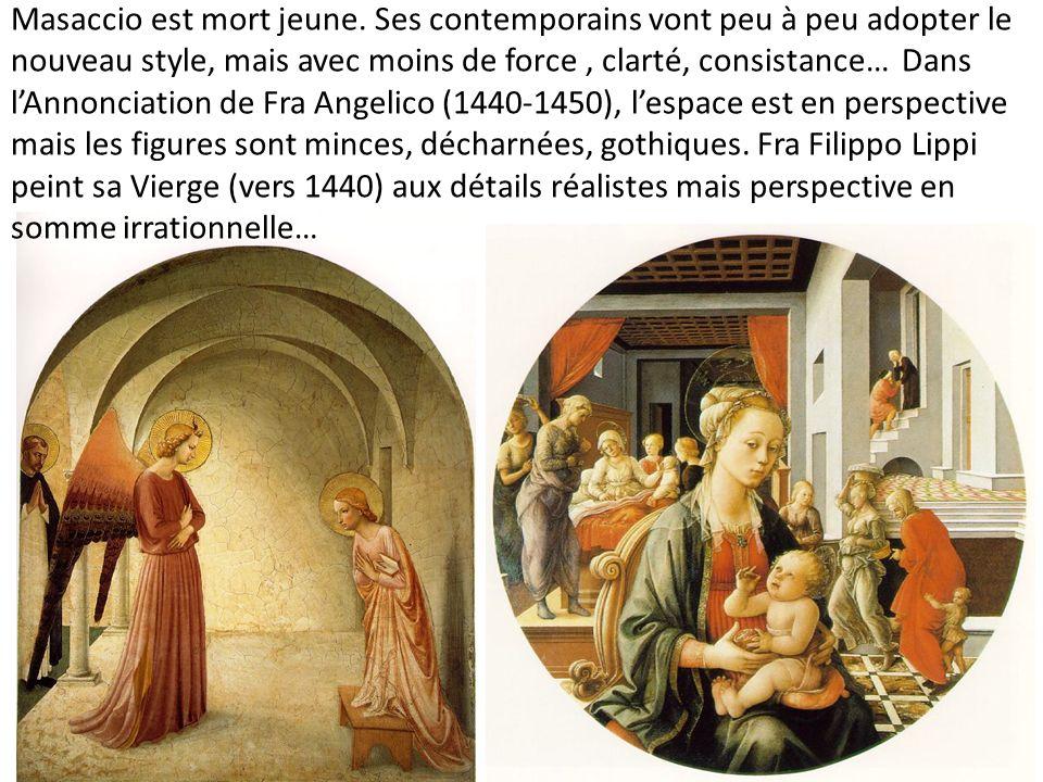 Masaccio est mort jeune