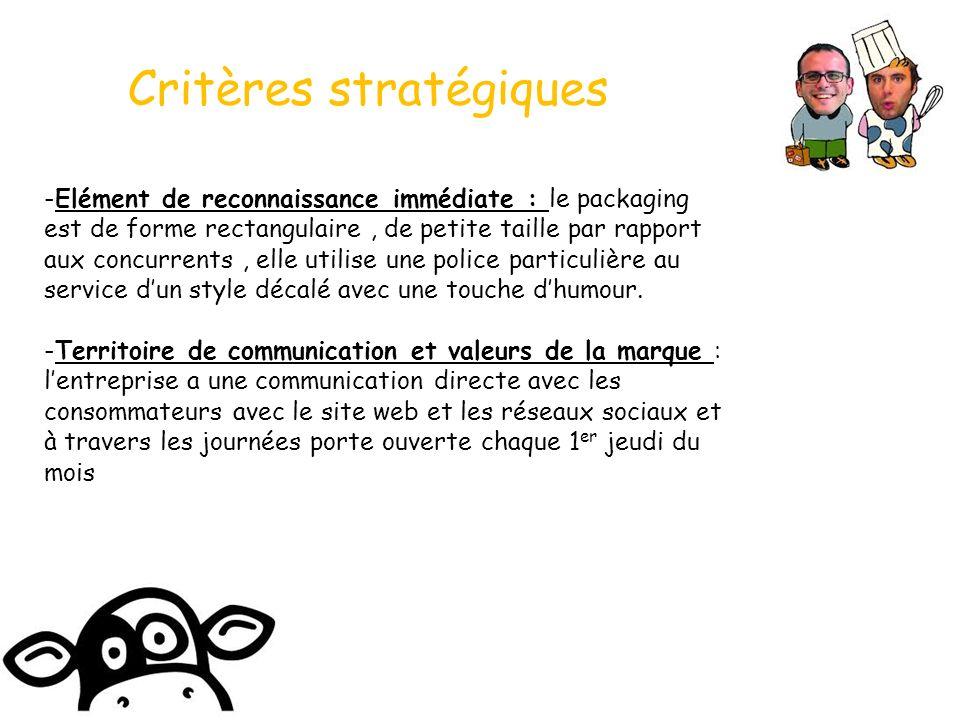 Critères stratégiques