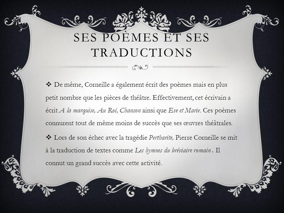 Ses poèmes et ses traductions