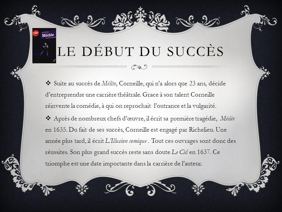 Le début du succès