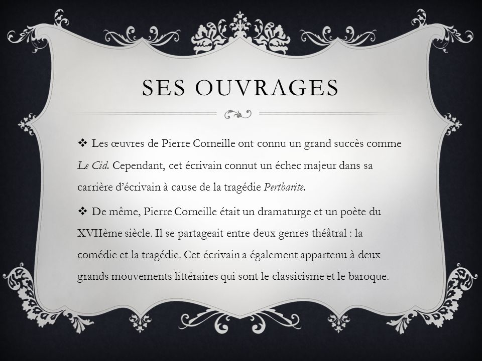 Ses ouvrages