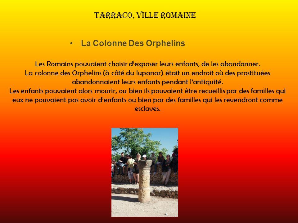 La Colonne Des Orphelins