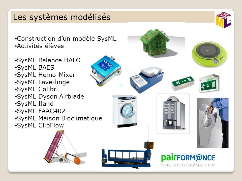 Les systèmes modélisés