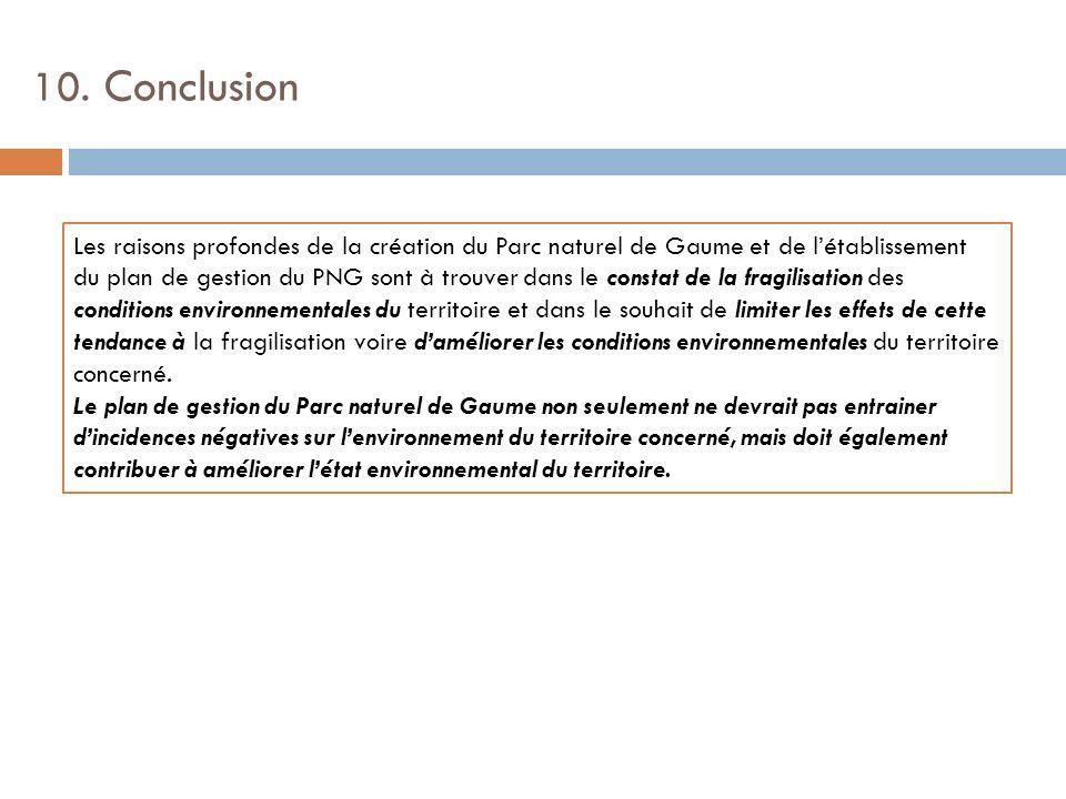10. Conclusion