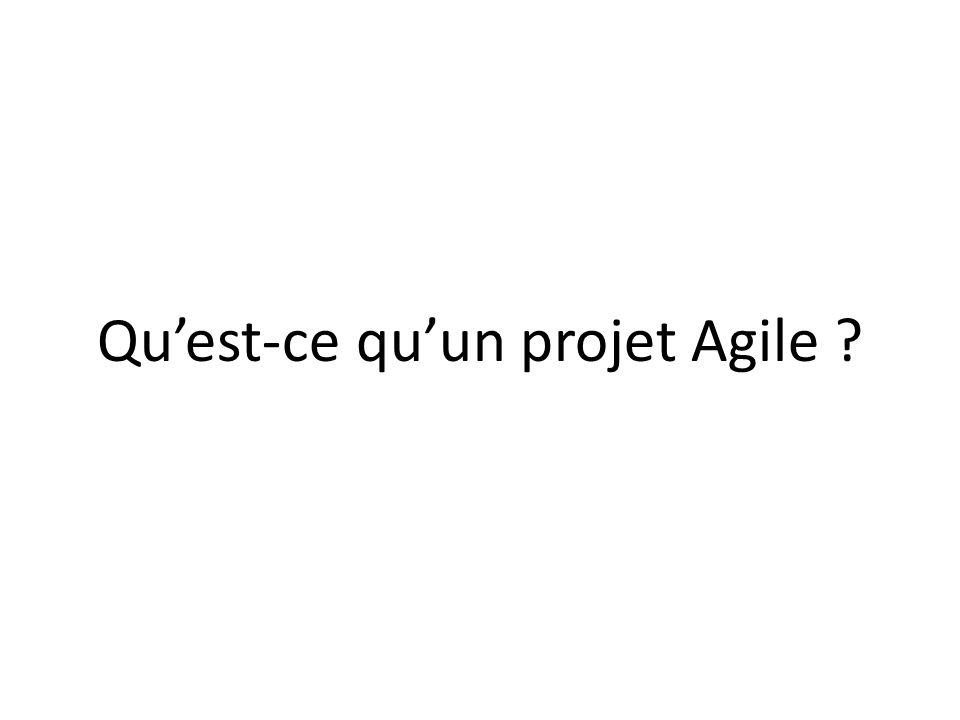 Qu'est-ce qu'un projet Agile
