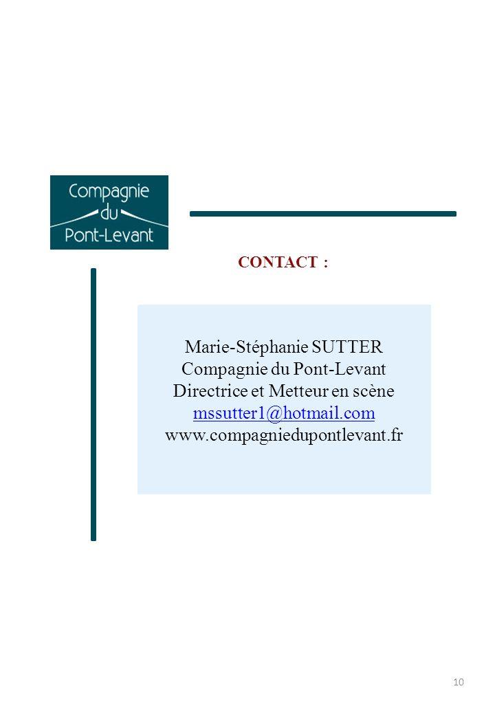 Marie-Stéphanie SUTTER Compagnie du Pont-Levant