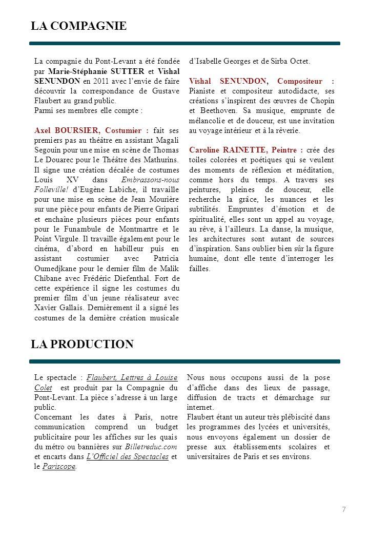 LA COMPAGNIE LA PRODUCTION