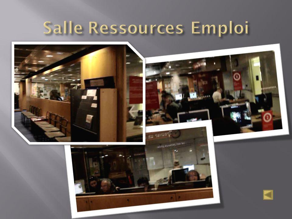 Salle Ressources Emploi