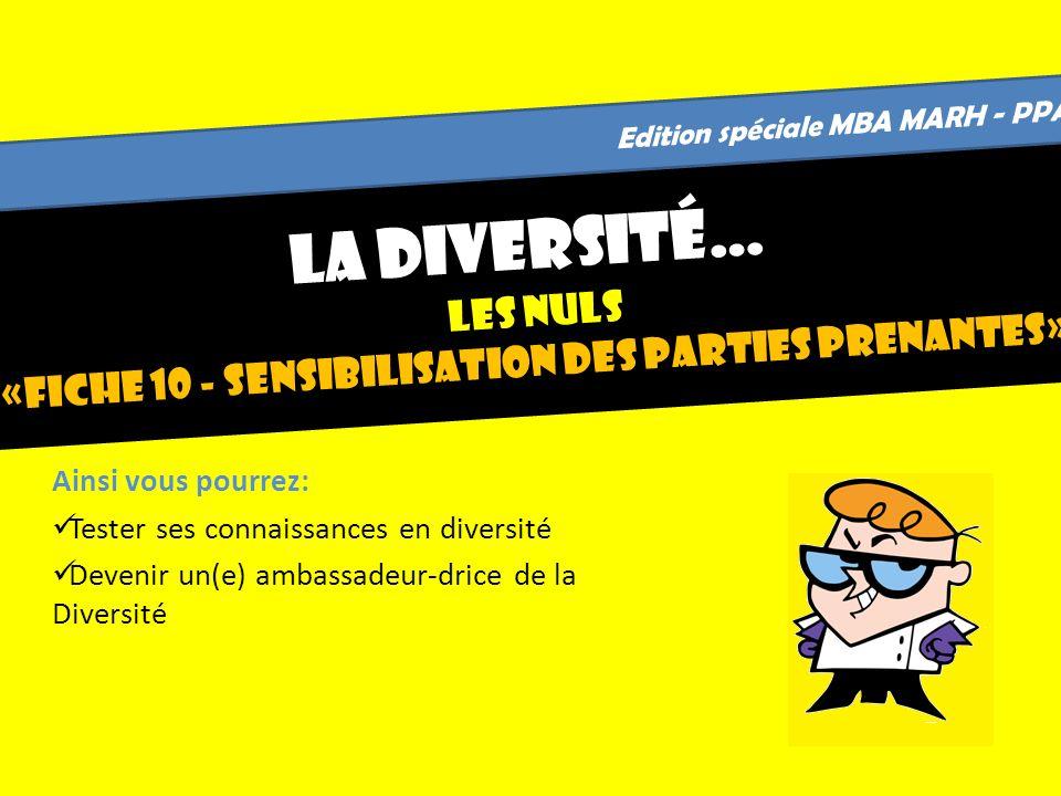 Edition spéciale MBA MARH - PPA